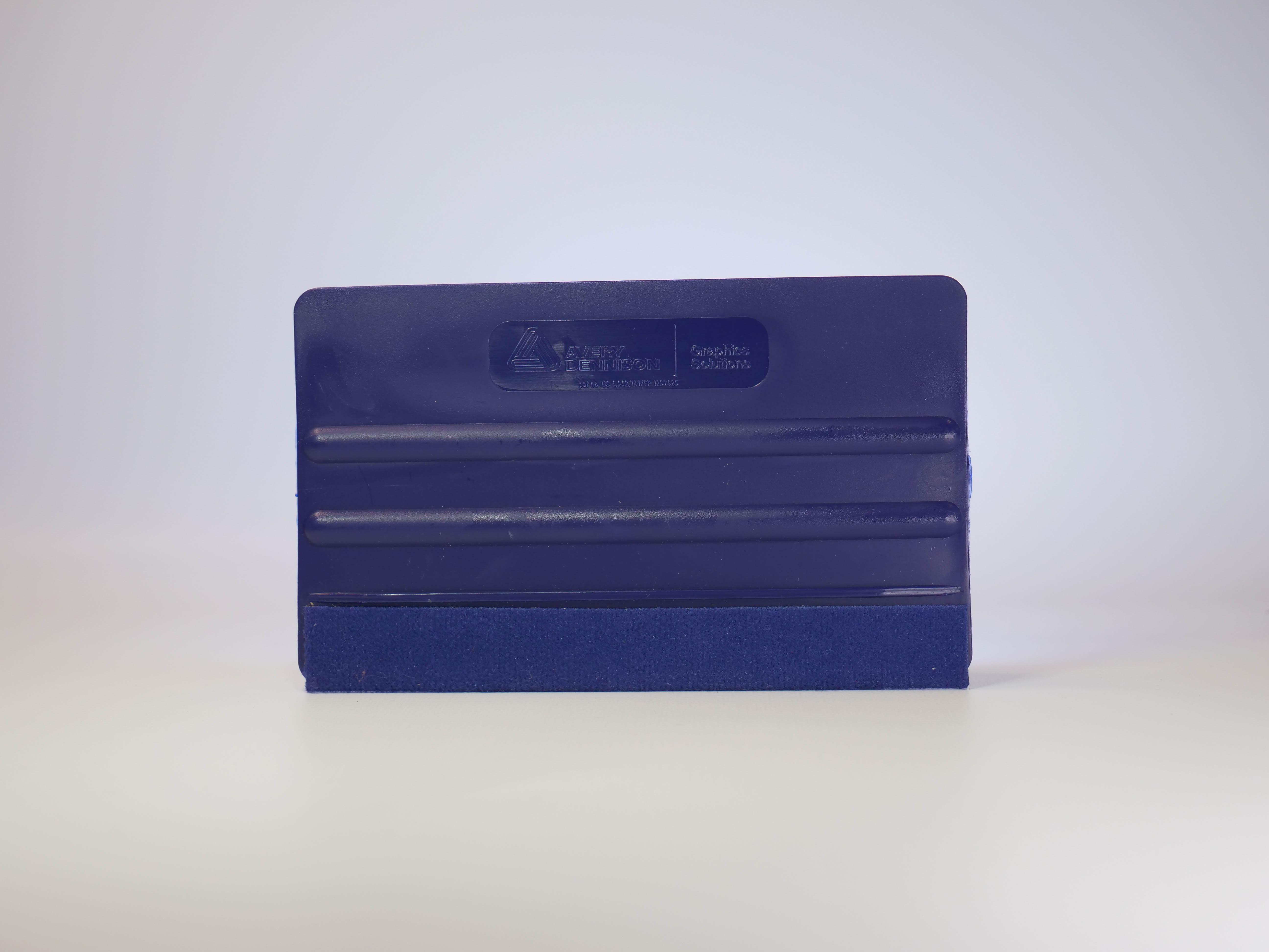 Avery Dennison Rakel Pro blau mit Filzkante XXL