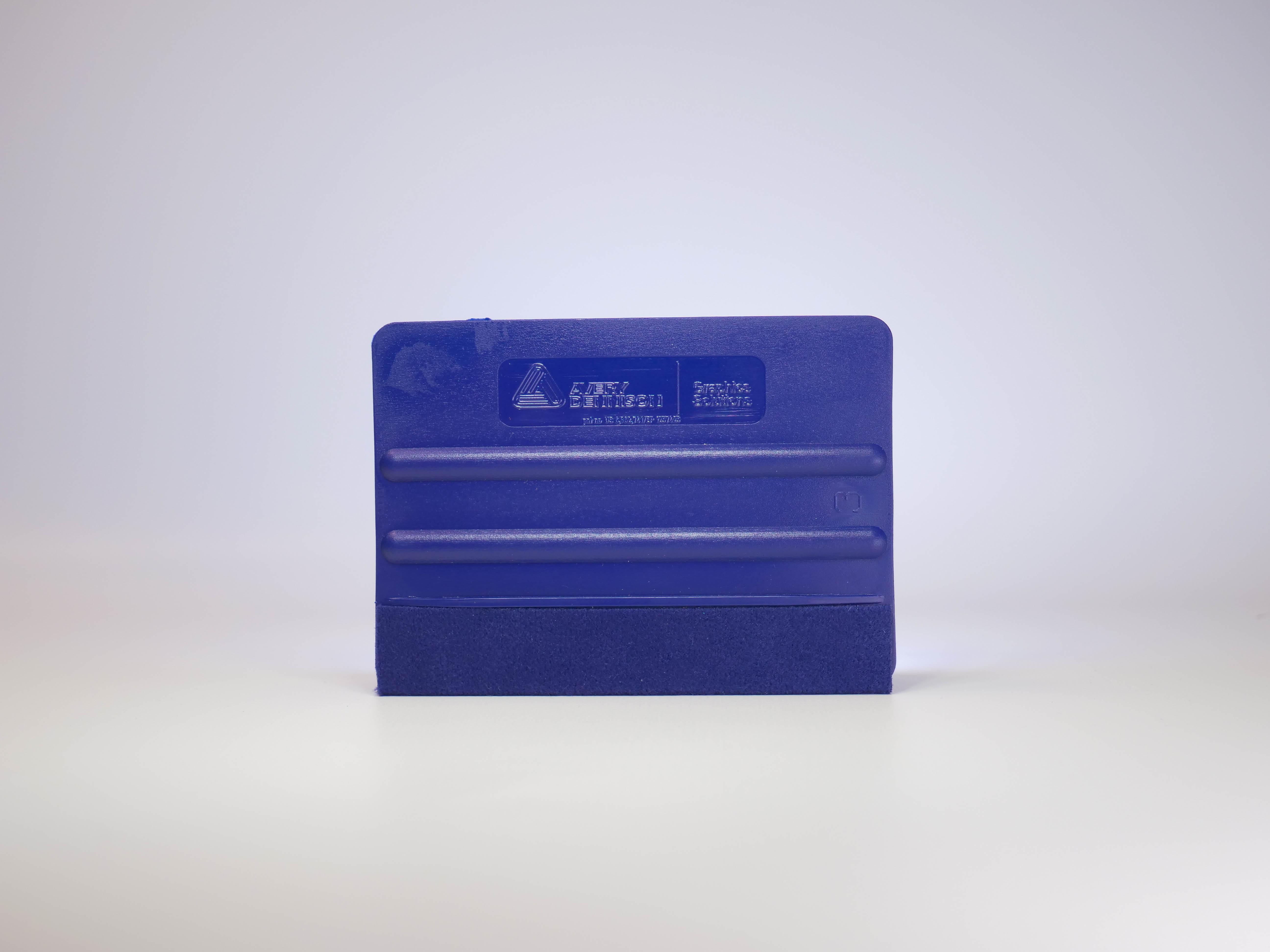 Avery Dennison Rakel Pro blau mit Filzkante