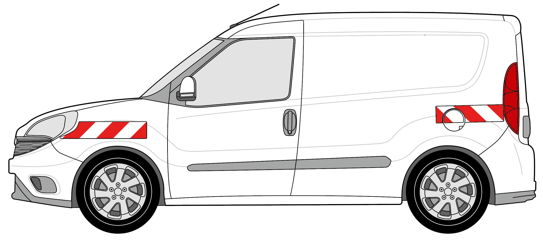 Fiat Doblo Heckflügeltüren BJ 2015-aktuell