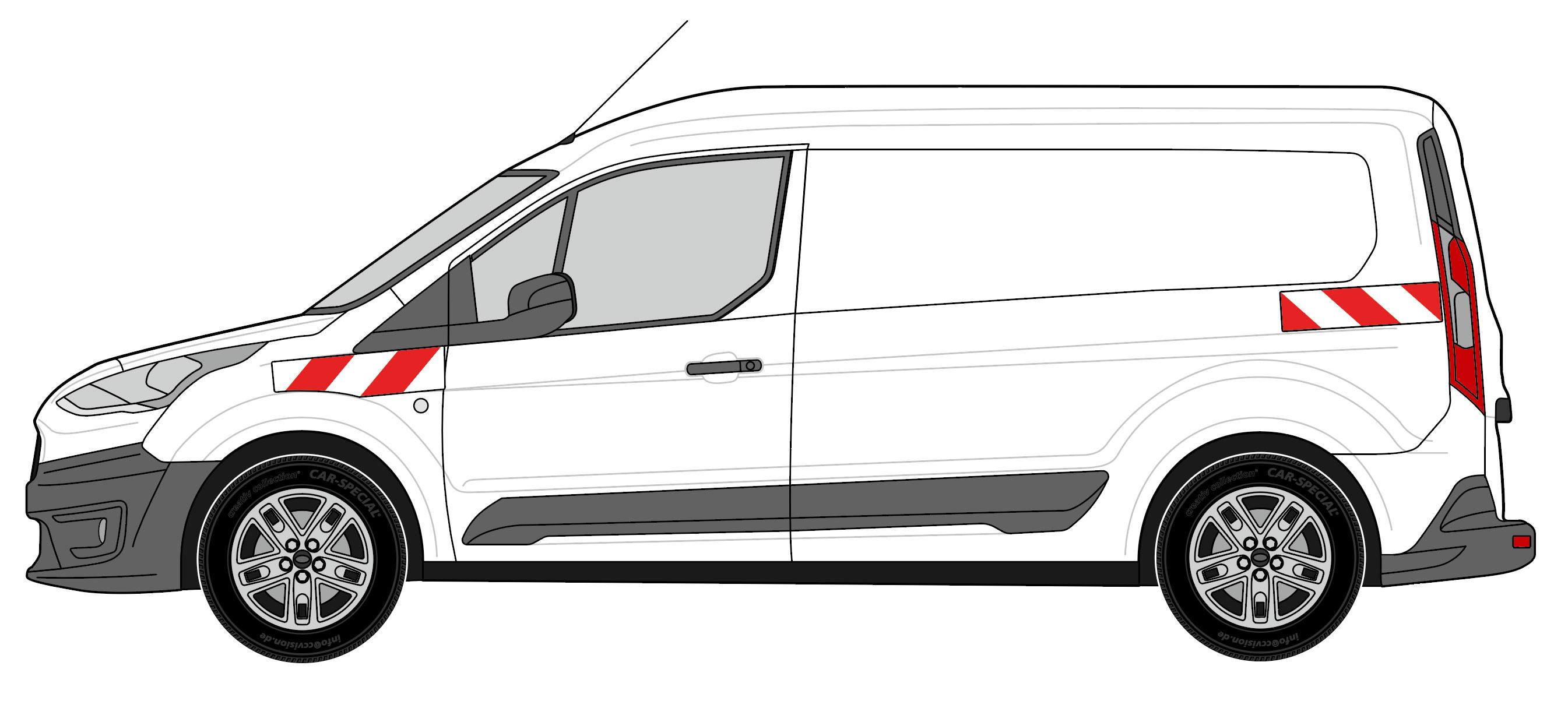 Ford Connect Heckflügeltür BJ 2018-aktuell