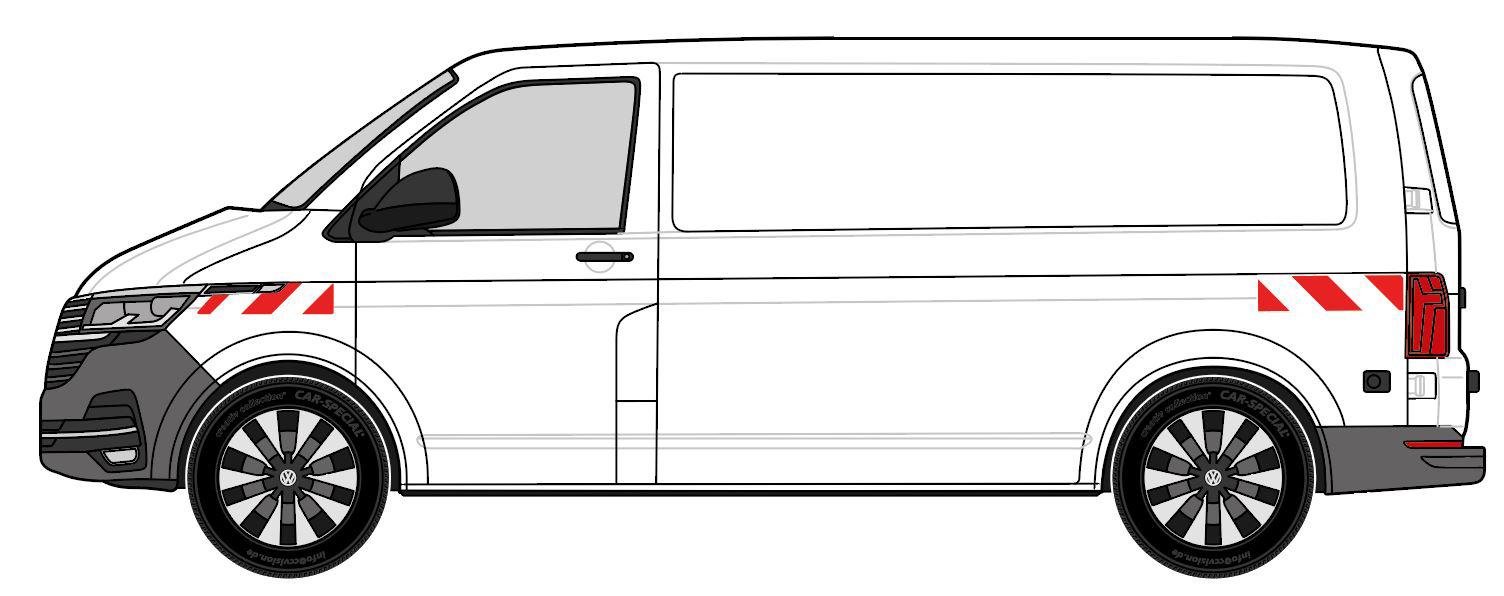 Volkswagen T6.1 Heckflügeltüren 2019/11-aktuell