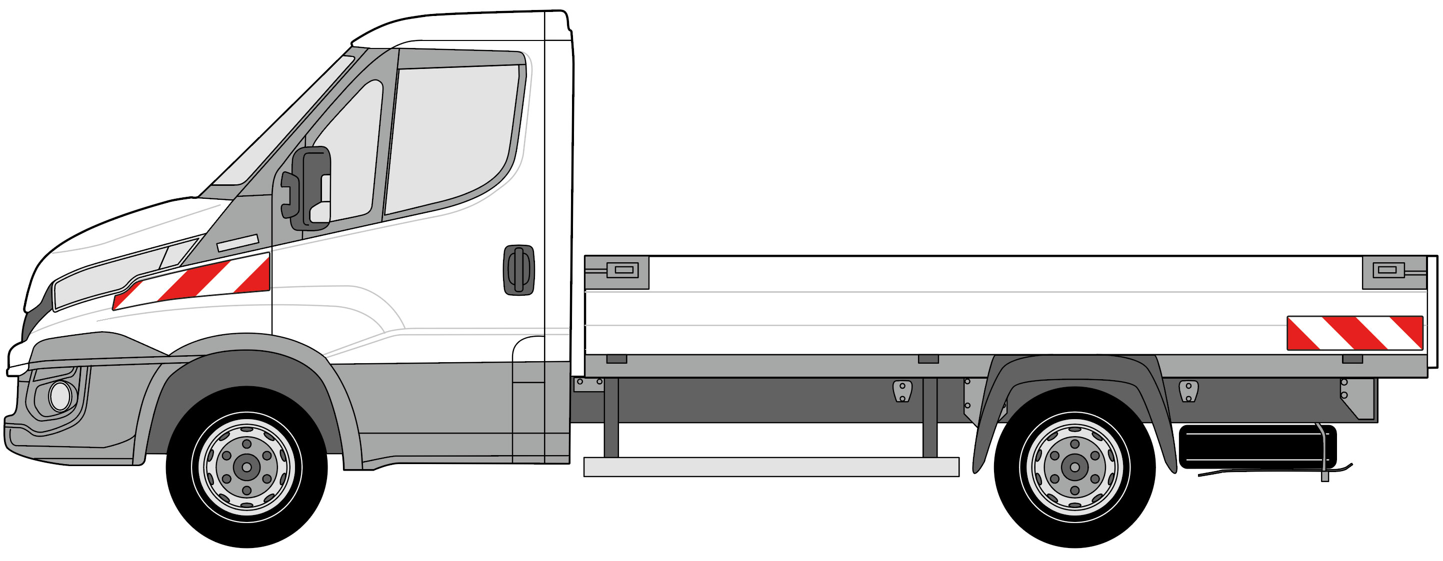 Iveco Daily Pritsche BJ ab 2014